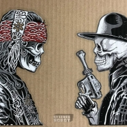 gypsy-cowboy-clear-zoltron-vinyl-stickers