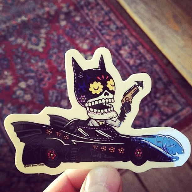 The new sticker packs batman sticker