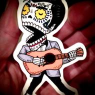 custom-elvis-presley-sticker