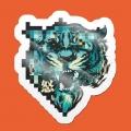 stickerpack-pixel-tiger