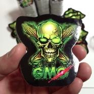 No GMO Anti-Monsanto Silk Screen Stickers