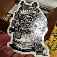 BottleRock Fest Custom Shape Sticker