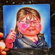 Rad Sticker Printed for Famed Cabbage Patch Artist, John Pound