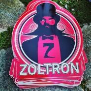 Zoltron Die-Cut Sticker