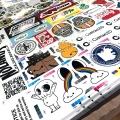 Uncut Silkscreen Stickers on Press
