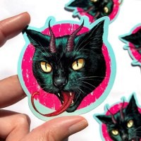 casey-weldon-stickers-horny-cat