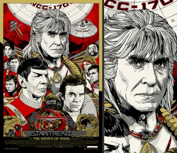 wrath of khan poster