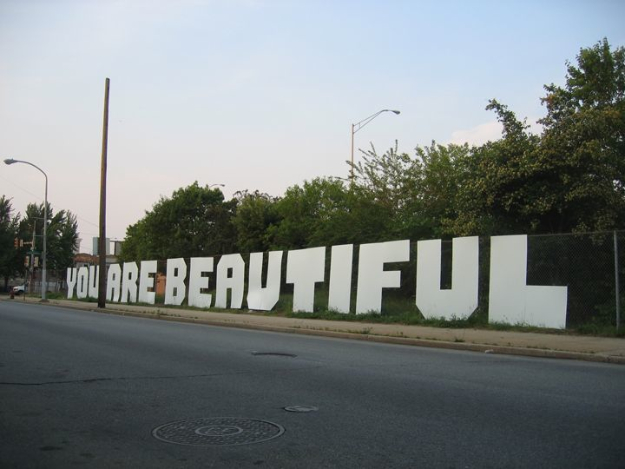 You are beautiful sticker campaign 2