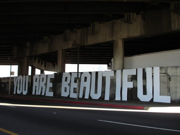 You are beautiful sticker campaign 4