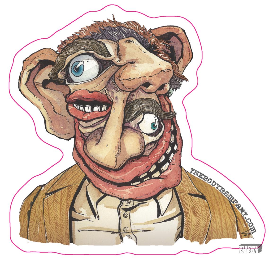 Sticker art by J.M. Lopez