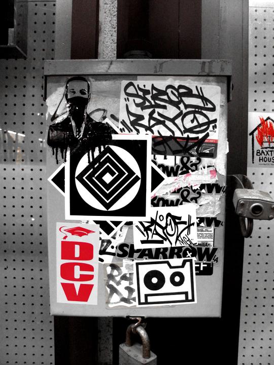 silkscreen stickers