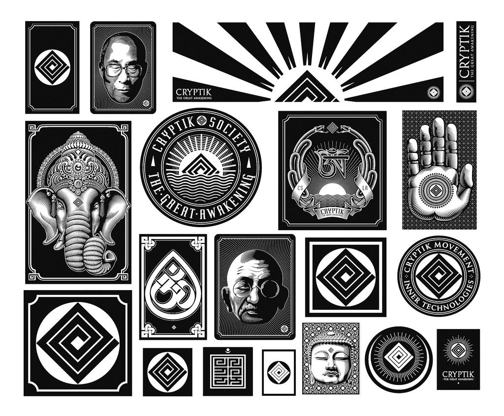 cryptik stickers