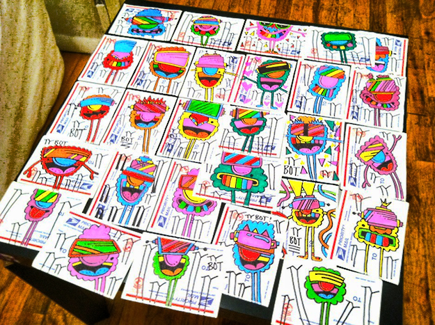 ty sticker interview by stickerobot.com
