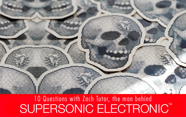 skull stickers by supersonicelectronic