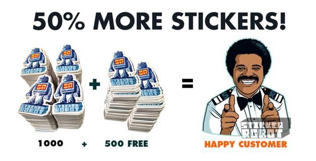 500 extra sticker promotion