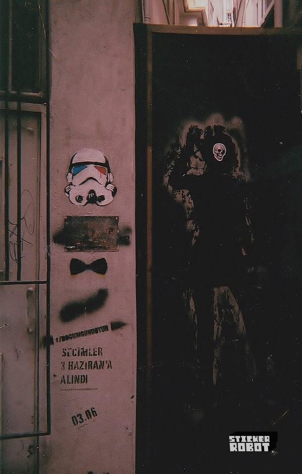 street art stickers