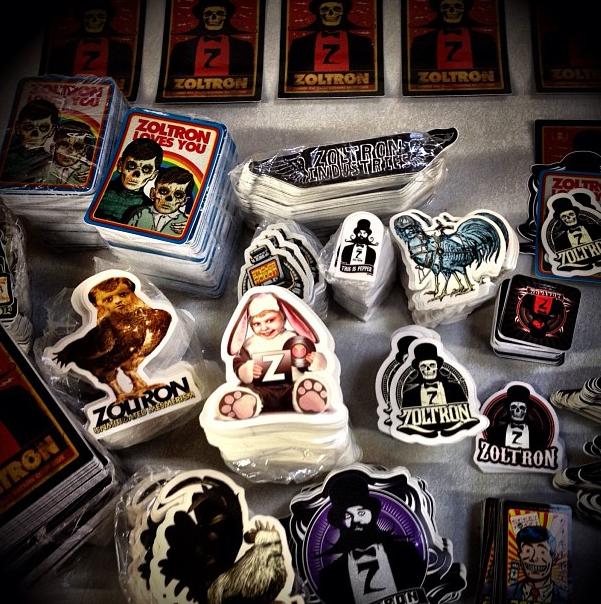 zoltron stickers
