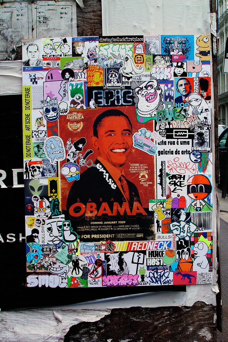 outdoor vinyl stickers in new york city