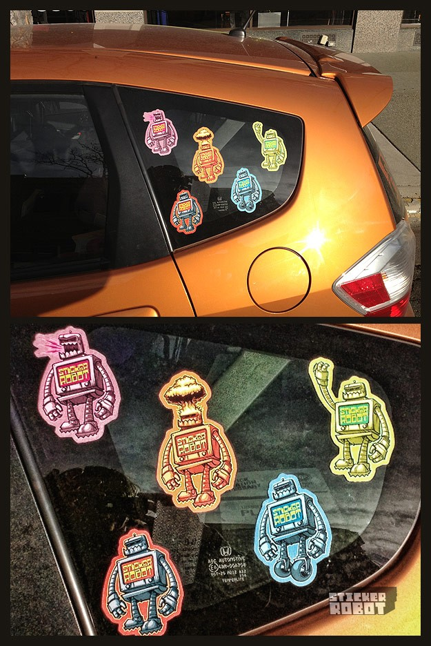 stickers for your car windows