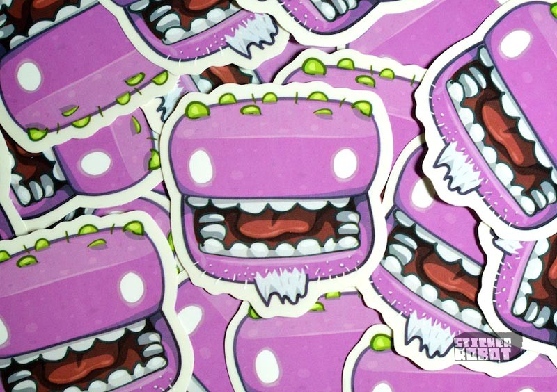 custom diecut sticker shapes