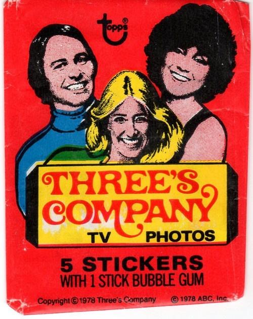 three's company sticker pack