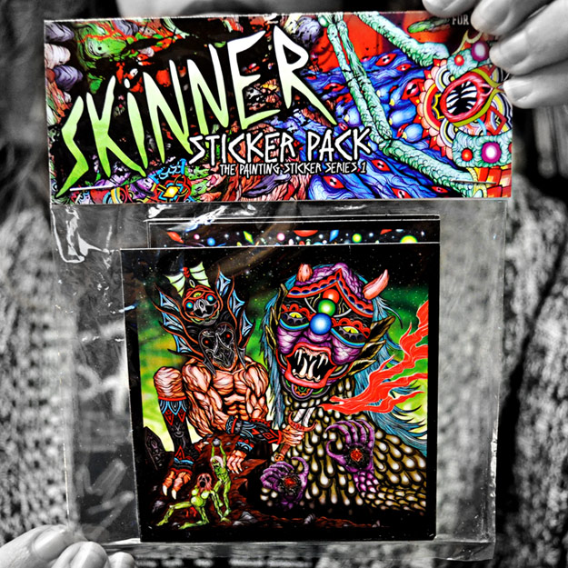 skinner sticker packs