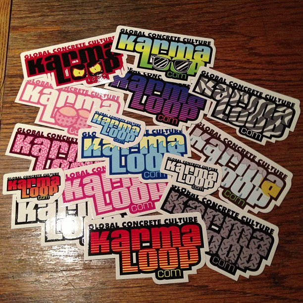 Custom Vinyl Die Cut Stickers From Karmaloop Sticker Robot - Custom custom die cut vinyl stickers