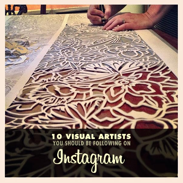 10 visual artists you should be following on instagram