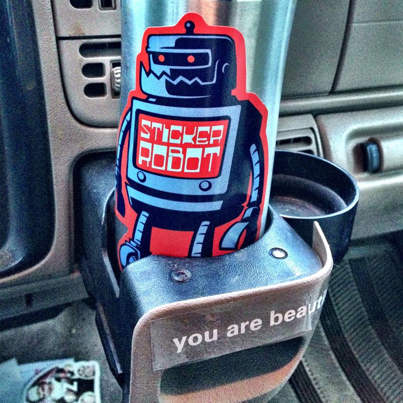 Stickerobot sticker
