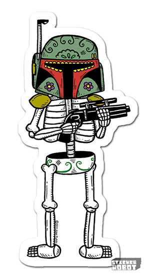 Vinyl Die Cut Sticker Bab Fett