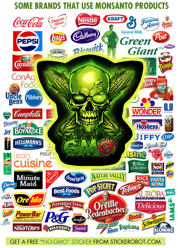 Free Anti Gmo Stickers And Downloadable Artwork Free