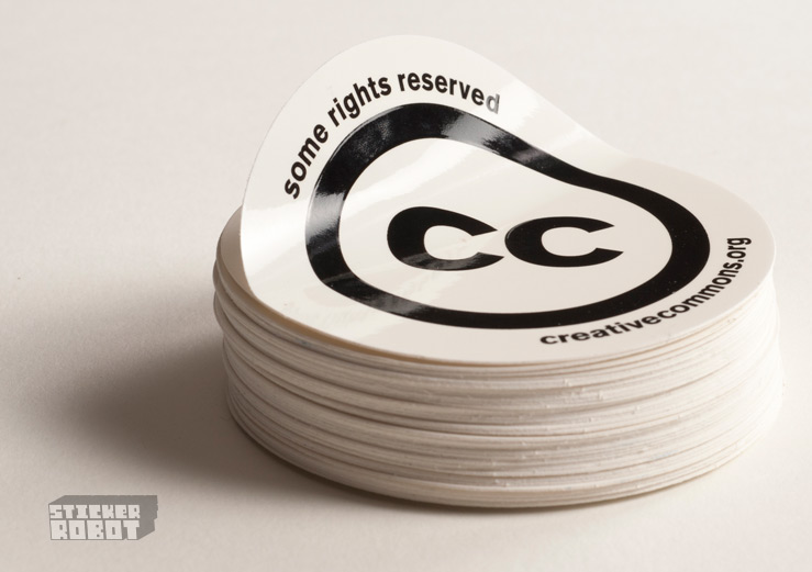 round sticker printing