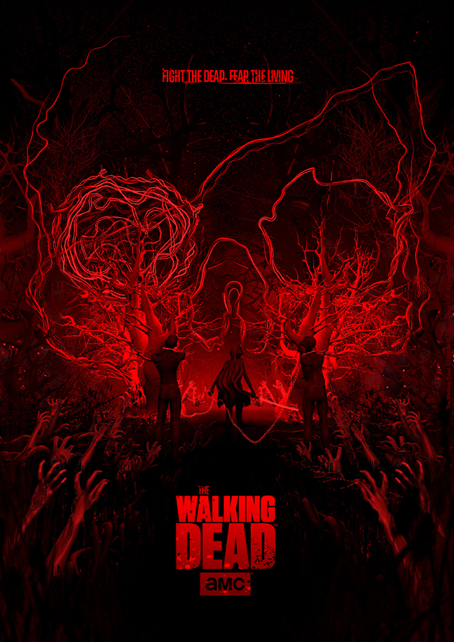 35 insanely good walking dead posters