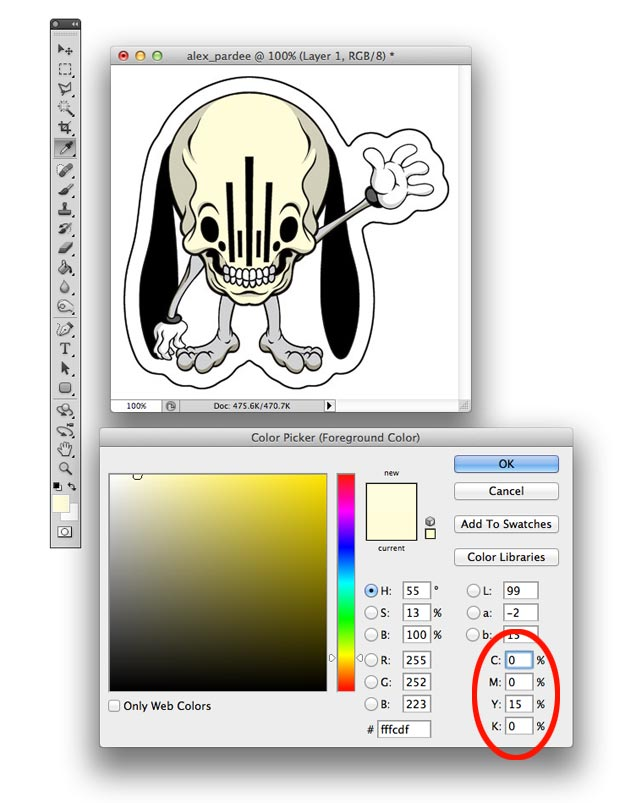 alex pardee sticker file full color