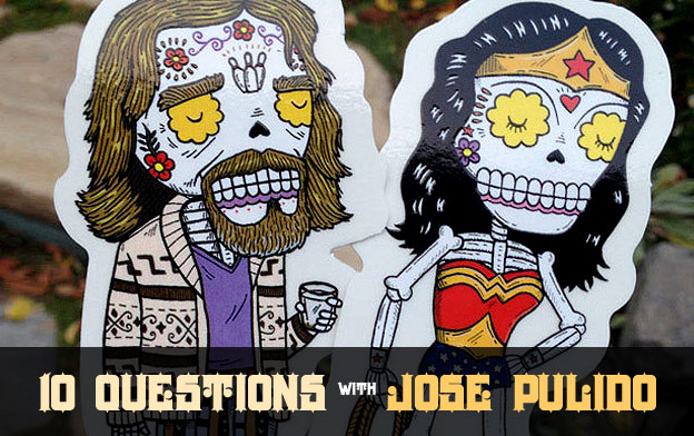 Clear vinyl stickers interview jose pulido