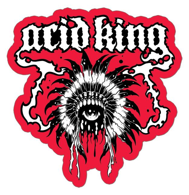 Custom band stickers acid king