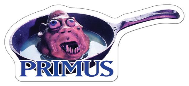 Custom primus music stickers