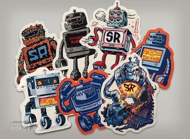 Artist sticker group 2