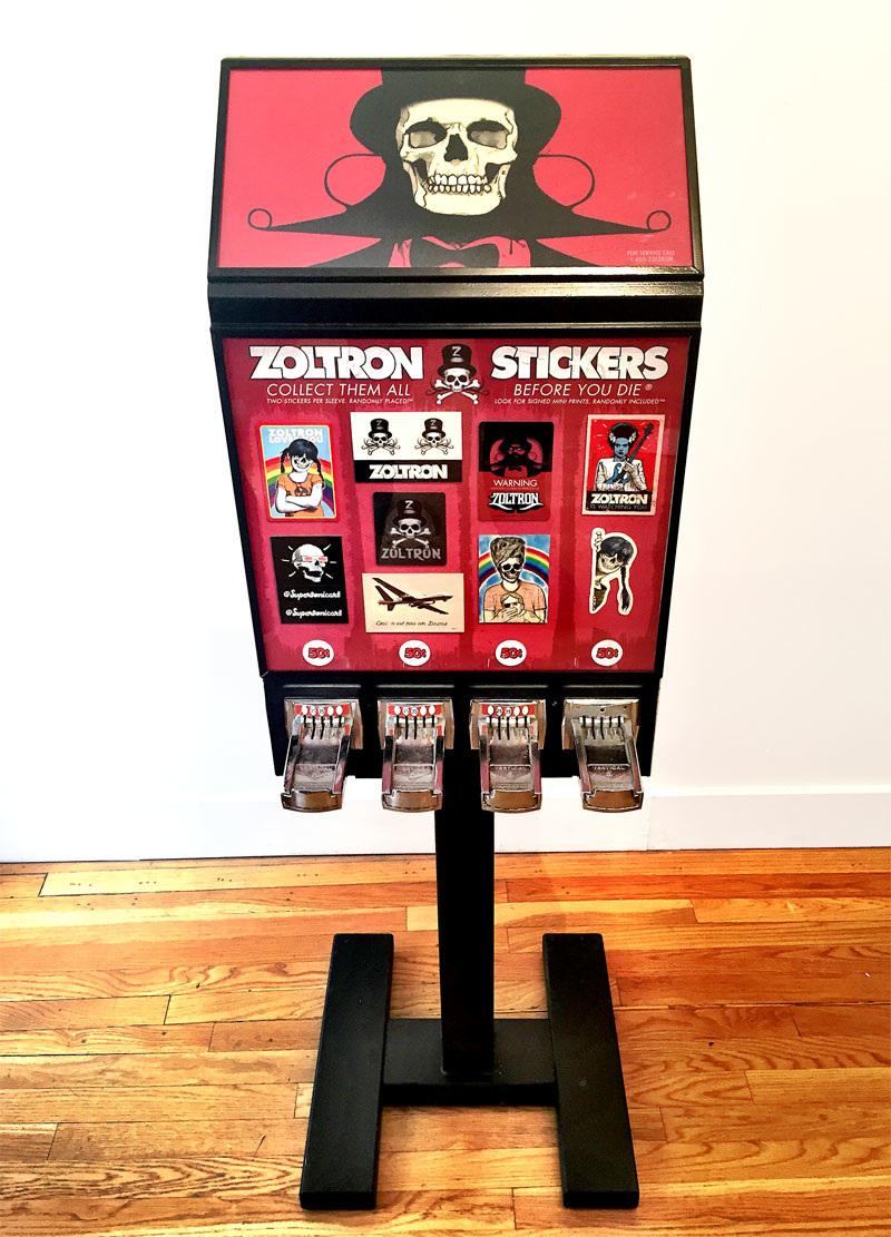 custom sticker machine