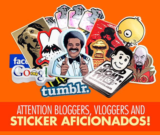 blog stickers