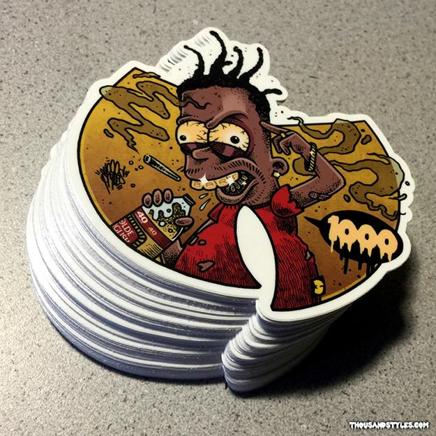Bootleg Bart Die-Cut Sticker