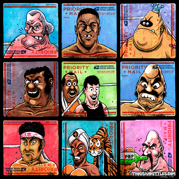Custom Punchout Stickers