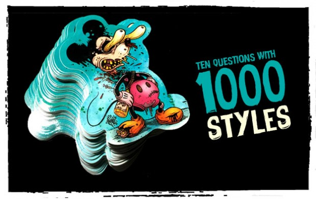 Sticker interview 1000styles