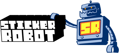 Sticker Robot Custom Stickers
