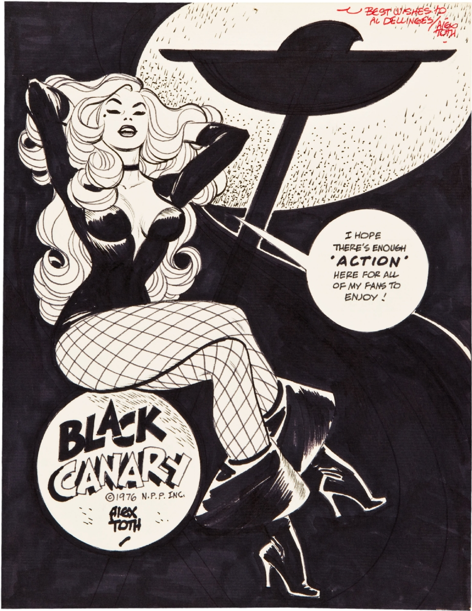 Alex TOth Black Canary