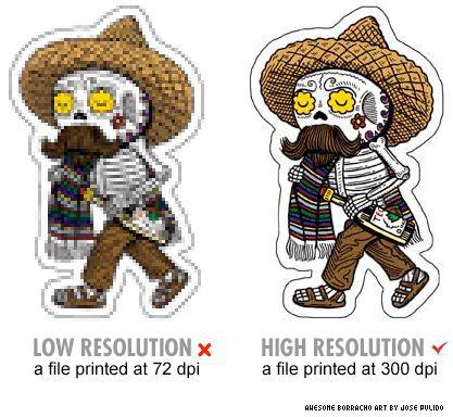 Sticker Resolution