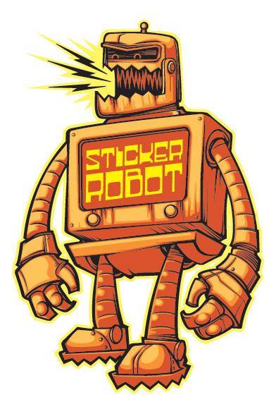 Contact Sticker Robot