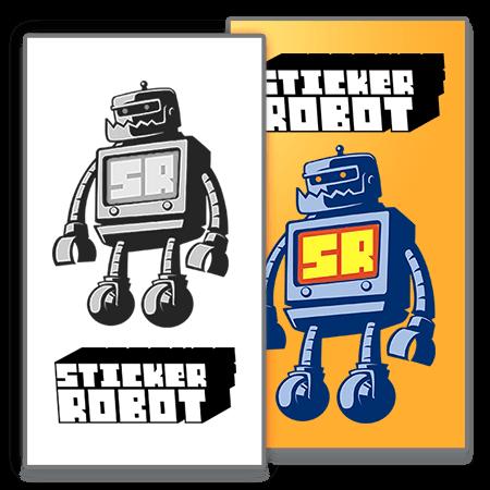 Sticker Back Printing