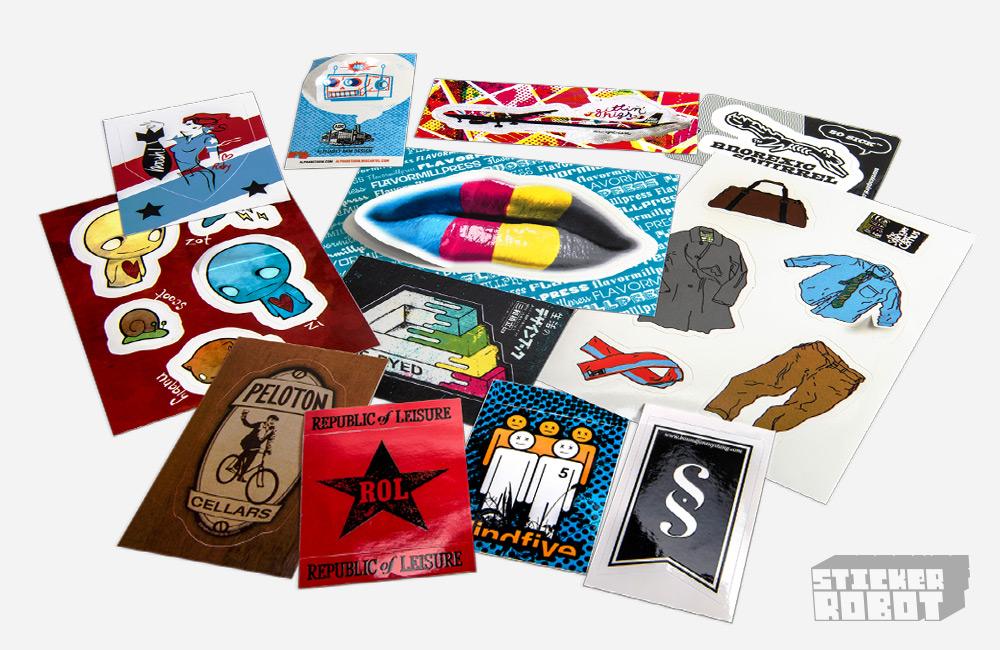 Kiss Cut Stickers