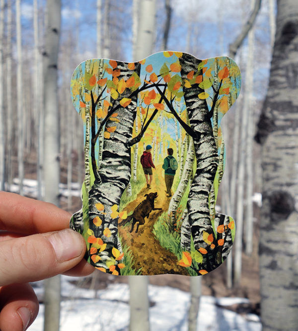 Aspen Nature Sticker